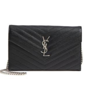 Saint Laurent YSL Cross body Shoulder Wallet Bag